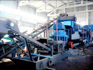 Дробильно-сортировочная установка ДСУ-120