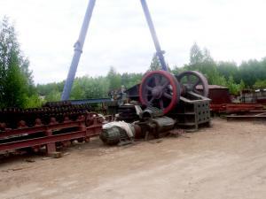 Дробильно-сортировочная установка ДСУ-200